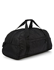 Double Handle Plain Duffel Bag