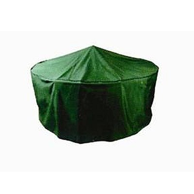 Green Round 200cm Set Cover - Polyethylene - Garden Furniture Accessories - FREE UK Mainland Delivery