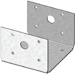 D44 TZ G185 Triple Zinc Galvanized 4 by 4 Post Anchor