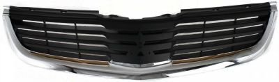 Evan-Fischer EVA17772043706 Grille Assembly Grill Plastic shell and insert Black With chrome molding (2007 Mitsubishi Galant Grille compare prices)