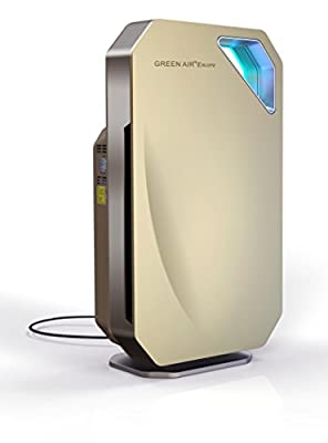Green Air Purifiers Green Air Encore HEPA and Carbon Filter Alpine Air Purifier with IonCluster Technology