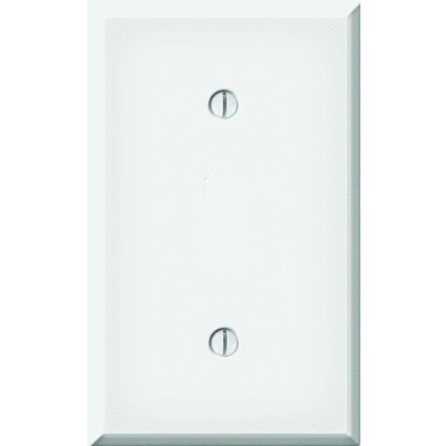 Pro-White Steel Smooth Switch Wall Plate-WHT SWITCH WALL PLATE