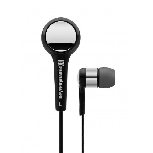 Beyerdynamic 716383 Dtx 102 Ie In-Ear Headphones, Black/Silver