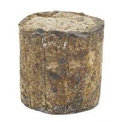 Raw African Black Soap from Ghana - 1 Lb