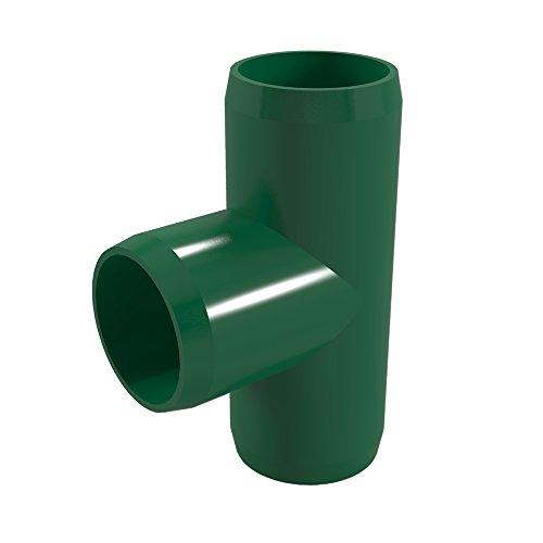 FORMUFIT F001TEE-GR-4 Tee PVC Fitting, Furniture Grade, 1