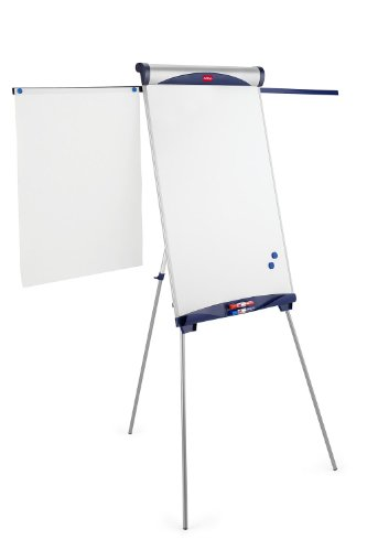 Nobo Shark Easel Drywipe Magnetic with Side Arms/Pad/Hooks H1100-1870mm Board Ref 1901918