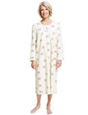 Rose Fleece Nightdress