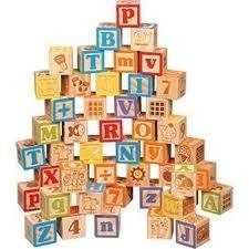 Maxim 45 MM 50 Piece Alphabet Blocks