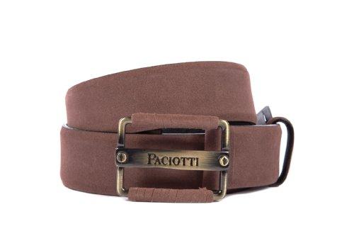 Cesare Paciotti men's genuine leather belt brown