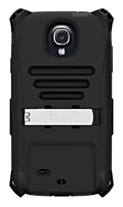 Trident Case AMS-SAM-S4-BK AMS Kraken Series Protective Case for Samsung Galaxy S4/GT-I9500 - 1 Pack - Retail Packaging - Black