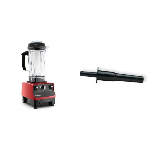 Vitamix  1890 Blender, Red (Certified Refurbished) and Vitamix Accelerator/Tamper Tool Bundle (Refurbished Small Appliances compare prices)