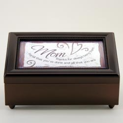 Thank You Mom Music Box - Thoughtful Gift for Mom