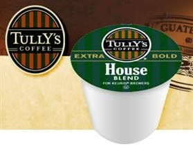Tully's House Blend Medium Balanced Coffee *