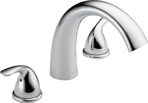 Delta T2705 Roman Tub Trim, Chrome (Roman Tub Faucet Chrome compare prices)