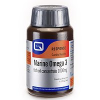 Quest Marine Omega 3 - Fish Oil Concentrate - 1000mg - 150 Capsules