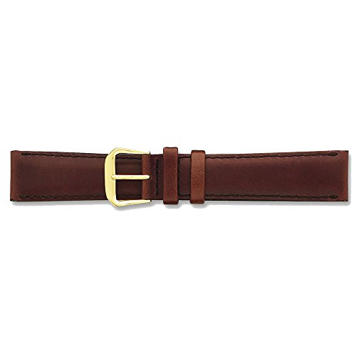 20mm-brown-italian-leather-silver-tone-buckle-watch-band