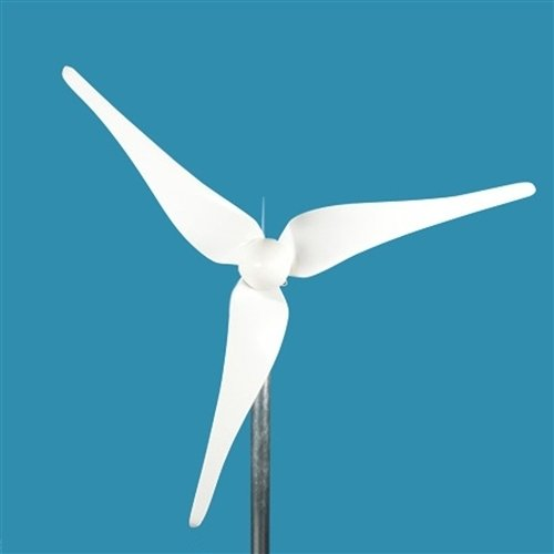 Aleko®Wm450 24-Volt 3-Blade 450 Watt Wind Generator With Charge Controller