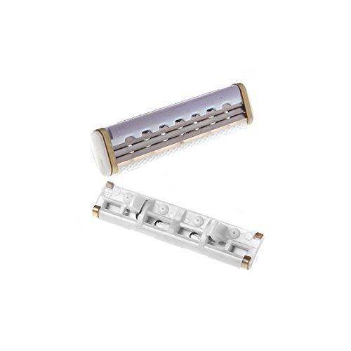 Docooler 4Pcs Shaving Razor Refill Blade Cartridge For Women Female Triple Blades Lubricating Strip Stainless Steel