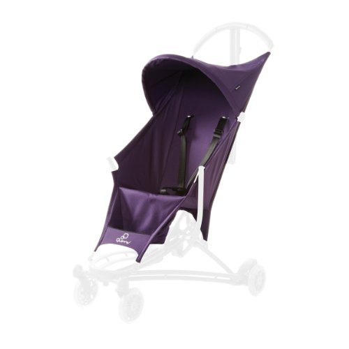 Quinny Yezz Stroller Seat Cover, Purple Rush - 1