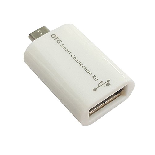 AT Shopping ZTE Blade S6 Plus Compatible Micro USB OTG to USB 2.0 Connector - White  available at amazon for Rs.129