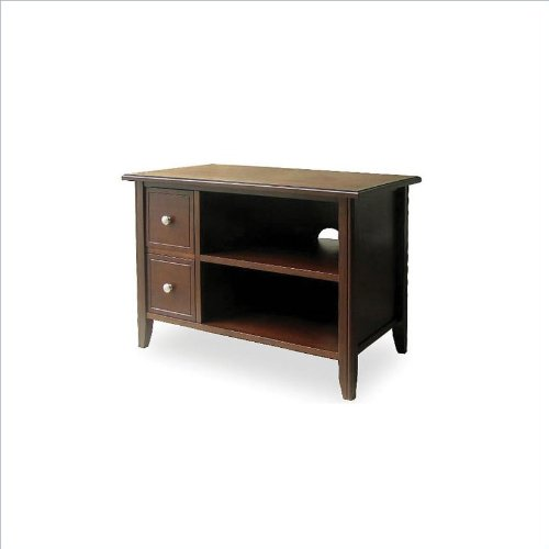 buy low price tv media stand with 2 drawers and shelf by. Black Bedroom Furniture Sets. Home Design Ideas