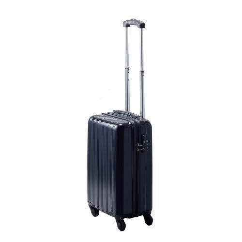TSAロック搭載 超軽量ファスナータイプ スーツケース グレートギアライトキャリー/S (ブラック)