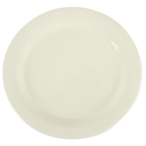 SierrusTM Dinner Plate - Narrow Rim 10-1/2 - Bone by Carlisle