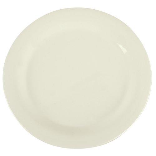 SierrusTM Dinner Plate - Narrow Rim 10-1/2 - Bone by Carlisle
