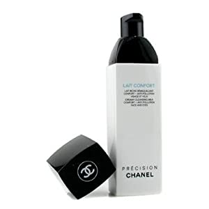 cha nel Cleanser, 150ml/5oz Precision Lait Confort Creamy Cleansing Milk Face & Eyes for Women