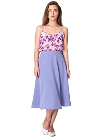 American Apparel Mid-Length Circle Skirt - L Esprit / XS