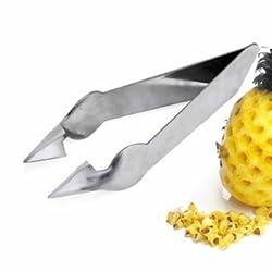 Stainless Steel Pineapple Eye Peeler Knife Pineapple Eye Remover Clip