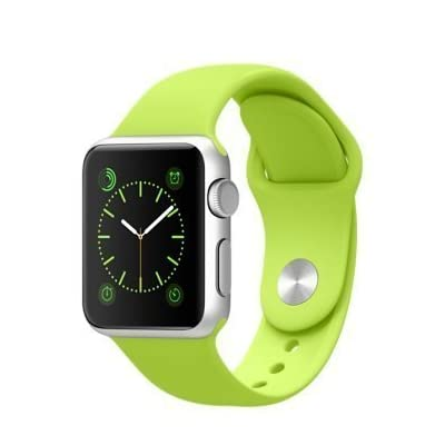 Apple 42mm Watch (Silver/Green)