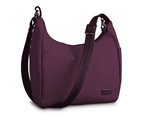 Pacsafe Luggage Citysafe 100 GII Petite Handbag, Plum, Meduim