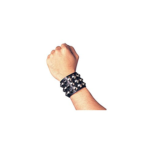 Studded Wristband Triple Halloween Accessory