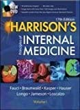 Harrisons Principles of Internal Medicine (2 Vol Set) 17th (seventeenth) Edition by Fauci, Anthony, Braunwald, Eugene, Kasper, Dennis, Hauser, S published by McGraw-Hill Professional (2008)
