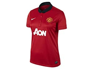 2013-14 Man Utd Home Nike Ladies Shirt by Nike