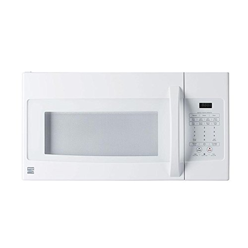 Kenmore Elite Over The Range Microwave 1.6 Cu. Ft. 1000 Watts White 85032