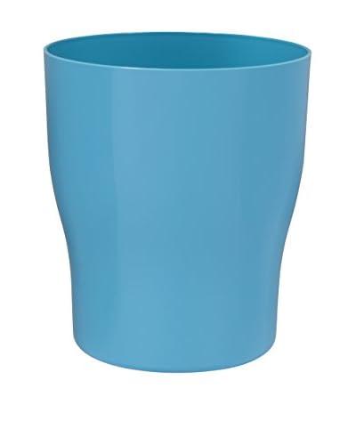 Creative Bath Gem Wastebasket, Turquoise