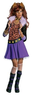 Costumes 211470 Monster High- Clawdeen Wolf Child Costume