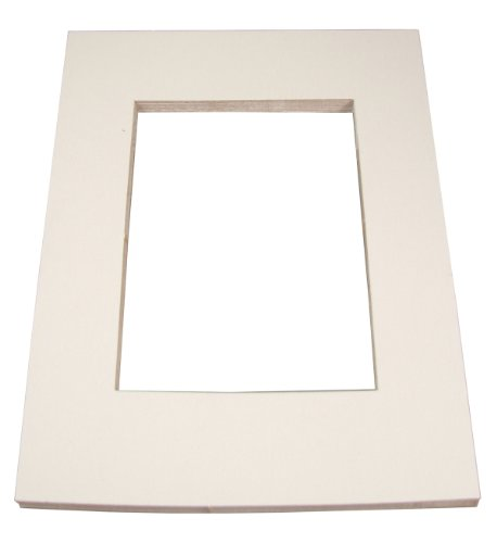 "Inovart Picture-It White Pre-Cut Art/Presentation Mat Frames - Fits Artwork 18"" x 24"""