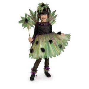 Child Small (Size 4-6, 3-4 Yrs) Spooky Sprite (Green Brighter) (Shoes, Tights Not Included)