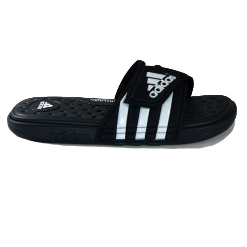 Adidas Men'S Adissage Uf+ Sandal,Black/White/Black,9 D(M) Us back-587105