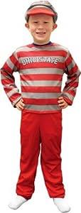 Ohio State Buckeyes Youth Halloween Costume by Mascot Wear