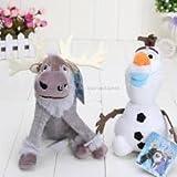Sven Plush Soft Toy Frozen Anna Elsa Teddy Doll Olaf Disney Kids Gift