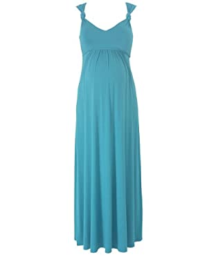 Maternity Maxi Occasion Dress - Jade