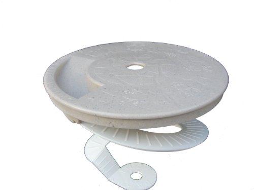 Critter Skimmer 9 Inch Round Pool Skimmer Cover Tan New
