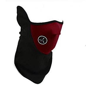 Domire Unisex Dustproof & Windproof Half Face Mask For Ski Cycling Motorcycle