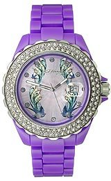 Ed Hardy's Ladies' Love Child Collection watch #LC-OB