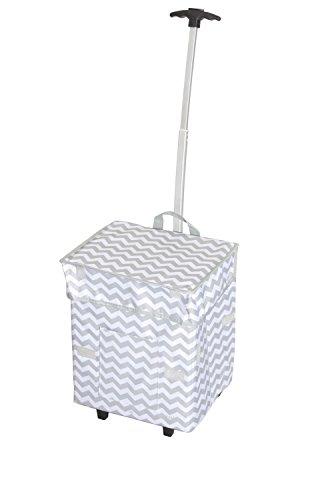 dbest-trendy-smart-cart-11-inch-x-13-x-43-cm-motif-chevrons