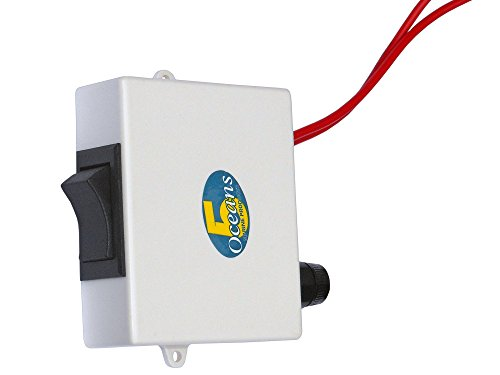 12v Push Button Switch Box for Marine Boat Electric Toilet/head - Five Oceans
